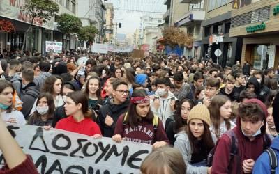 Πράσινο Κίνημα: Η νεολαία λέει όχι στις καταστροφικές πολιτικές