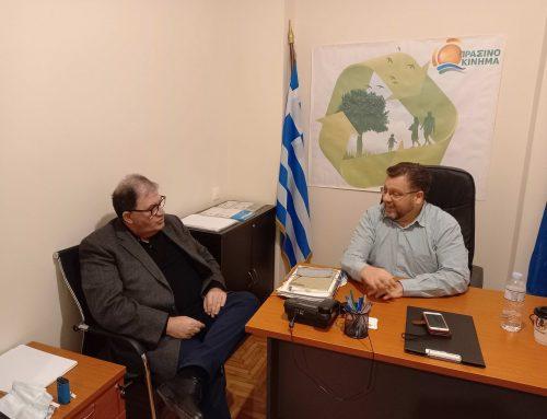 ΠΡΑΣΙΝΟ ΚΙΝΗΜΑ: Με τον πρόεδρο του ΚΕΛΔΑ για τα θέματα Δανειοληπτών και Καταναλωτών
