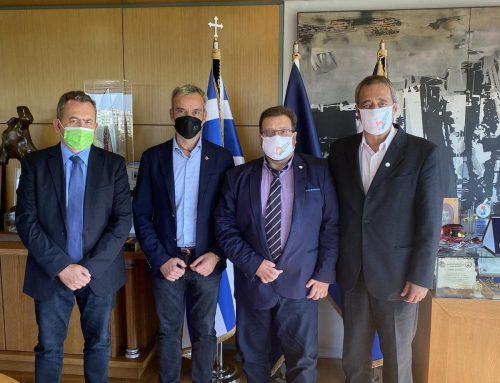 Με τον Δήμαρχο Θεσσαλονίκης συναντήθηκε το Πράσινο Κίνημα
